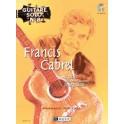 Guitare solo n°8 : Francis Cabrel - Ed Henry LEMOINE - Livre + CD guitare