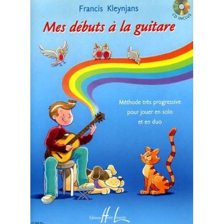 "Méthode deguitare- ""MES DEBUTS A LA GUITARE"" de KLEYNJANS"