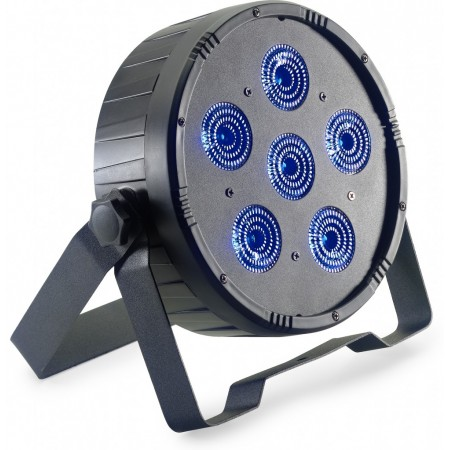 ECOPAR6-2 - STAGG - Par à led RGBWA+UV 6 x 12 Watts