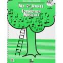 MA 2eme ANNEE DE FORMATION MUSICALE - SICILIANO Marie-Hélène - Edition H Cube
