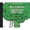 CD - MA 2eme ANNEE DE FORMATION MUSICALE - SICILIANO Marie-Hélène - Edition H Cube