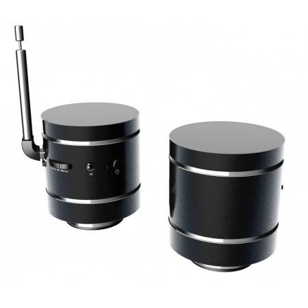 VULCANO 20W - DJ-BOX - Enceinte à vibration bluetooth / lecteur micro SD / Radio FM