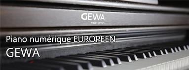 Piano numérique - GEWA
